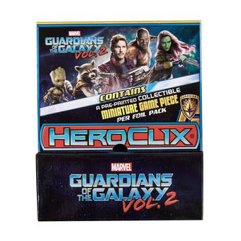 Marvel HeroClix: Guardians of the Galaxy Vol. 2 Gravity Feed Display (24 Ct.)