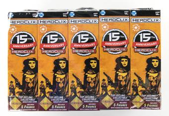 DC HeroClix: 15th Anniversary Elseworlds Booster Brick (10 Ct.)