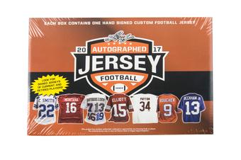 2017 Leaf Autographed Jersey Edition Football Hobby Box