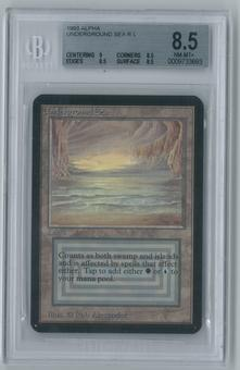 Magic the Gathering Alpha Underground Sea Single BGS 8.5 (9, 8.5, 8.5, 8.5)