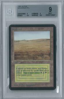Magic the Gathering Alpha Savannah BGS 9 (9, 9, 9.5, 8.5)