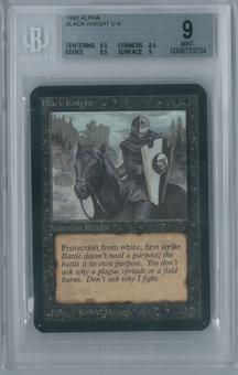 Magic the Gathering Alpha Black Knight BGS 9 (9.5, 8.5, 9.5, 9)