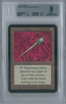 Magic the Gathering Alpha Disrupting Scepter BGS 9 (9, 8.5, 9.5, 9.5)