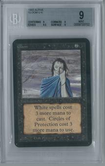 Magic the Gathering Alpha Gloom BGS 9 (9, 9, 9.5, 9)