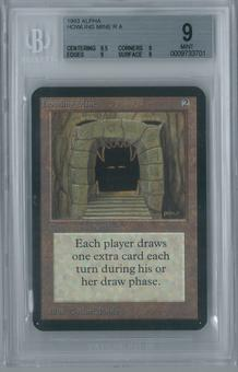 Magic the Gathering Alpha Howling Mine BGS 9 (9.5, 9, 9, 9)