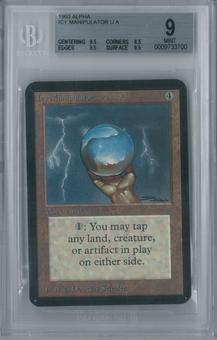 Magic the Gathering Alpha Icy Manipulator BGS 9 (9.5, 8.5, 9.5, 9.5)