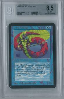 Magic the Gathering Alpha Lord of Atlantis BGS 8.5 (9.5, 9, 9.5, 7.5)