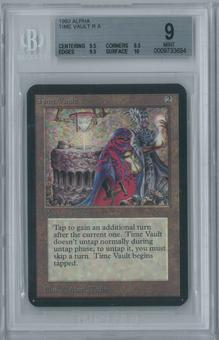 Magic the Gathering Alpha Time Vault BGS 9 (9.5, 8.5, 9.5, 10)