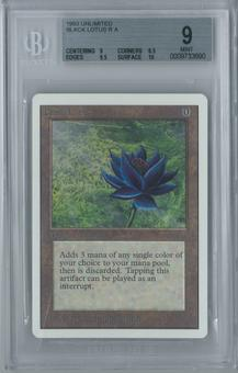 Magic the Gathering Unlimited Black Lotus BGS 9 (9, 8.5, 9.5, 10)