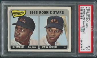 1965 Topps Baseball #16 Joe Morgan Rookie PSA 5 (EX)