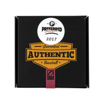 2017 Onyx Preferred Players Collection Baseball Hobby Box