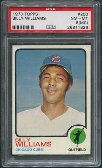 1973 Topps Baseball #200 Billy Williams PSA 8 (NM-MT) (MC)