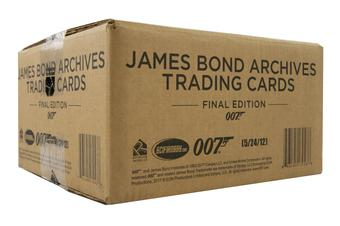 James Bond Archives The Final Edition Trading Cards 12-Box Case  (Rittenhouse 2017)