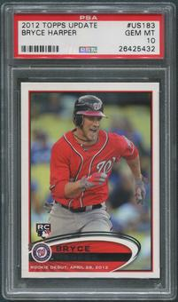 2012 Topps Update Baseball #US183 Bryce Harper Rookie PSA 10 (GEM MT)