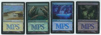 Magic the Gathering MPS 2006 Time Spiral Set Japanese Foil Basic Land Lot