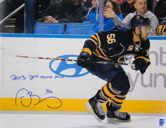 Justin Bailey Autographed Buffalo Sabres 11x14 Hockey Photo