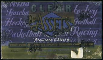 1996 Classic Clear Assets Multi Sport Box