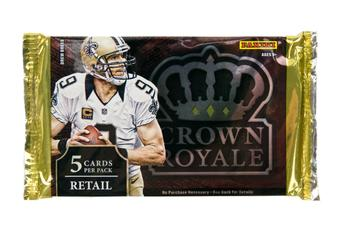 2014 Panini Crown Royale Football Retail Pack