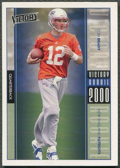 2000 Upper Deck Victory #326 Tom Brady Rookie