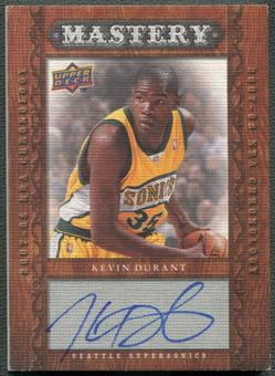 2007/08 Chronology #104 Kevin Durant Mastery Rookie Auto #03/25