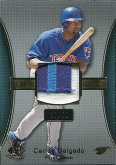 2004 SP Game Used Patch Premium #CD Carlos Delgado Blue Jays 37/50