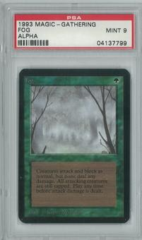 Magic the Gathering Alpha Single Fog PSA 9
