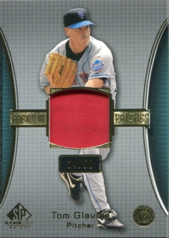 2004 SP Game Used Patch Premium Mets #TG Tom Glavine 24/50