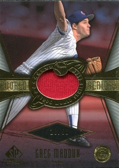 2004 SP Game Used Patch World Series #GM1 Greg Maddux Cubs 28/50
