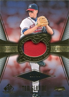 2004 SP Game Used Patch World Series #TG Tom Glavine 16/50