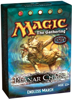 Magic the Gathering Planar Chaos Endless March Theme Deck