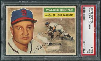 1956 Topps Baseball #273 Walker Cooper PSA 7 (NM)