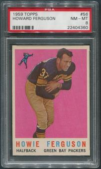 1959 Topps Football #56 Howard Ferguson PSA 8 (NM-MT)