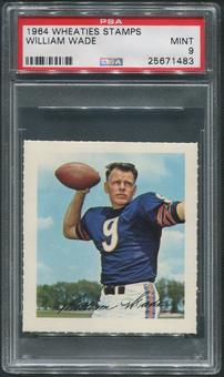1964 Wheaties Stamps Football #70 Bill Wade PSA 9 (MINT)
