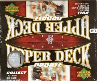 2006 Upper Deck Update Baseball 24 Pack Box