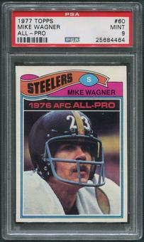 1977 Topps Football #60 Mike Wagner PSA 9 (MINT)