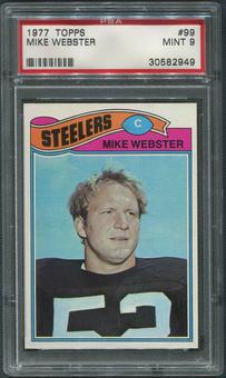 1977 Topps Football #99 Mike Webster Rookie PSA 9 (MINT)