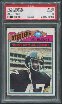 1977 Topps Football #180 Mel Blount All Pro PSA 9 (MINT)