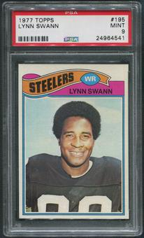 1977 Topps Football #195 Lynn Swann PSA 9 (MINT)