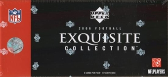 2006 Upper Deck Exquisite Football Hobby Box