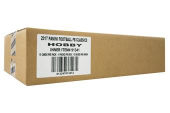 2017 Panini Classics Football Hobby 10-Box Case