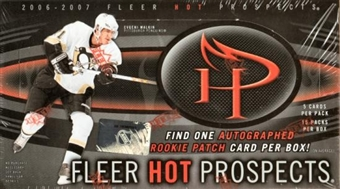 2006/07 Fleer Hot Prospects Hockey Hobby Box (UD)