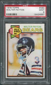 1979 Topps Football #480 Walter Payton All Pro PSA 9 (MINT)