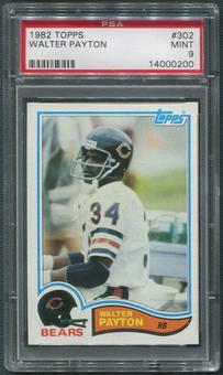 1982 Topps Football #302 Walter Payton PSA 9 (MINT)