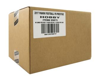 2017 Panini Prestige Football Hobby 12-Box Case