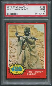 1977 Star Wars #107 The Tusken Raider PSA 9 (MINT)