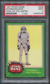 1977 Star Wars #246 Stormtrooper Tool Of The Empire PSA 9 (MINT)