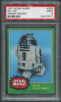 1977 Star Wars #253 R2-D2 PSA 9 (MINT)