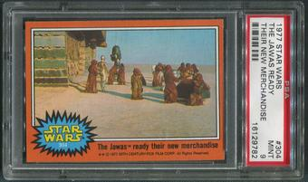 1977 Star Wars #304 The Jawas Ready Their New Merchandise PSA 9 (MINT)