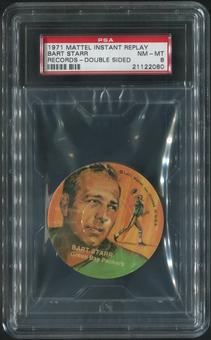 1971 Mattel Instant Replay Football #FB17 Bart Starr PSA 8 (NM-MT)