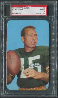 1970 Topps Super Football #3 Bart Starr PSA 9 (MINT)